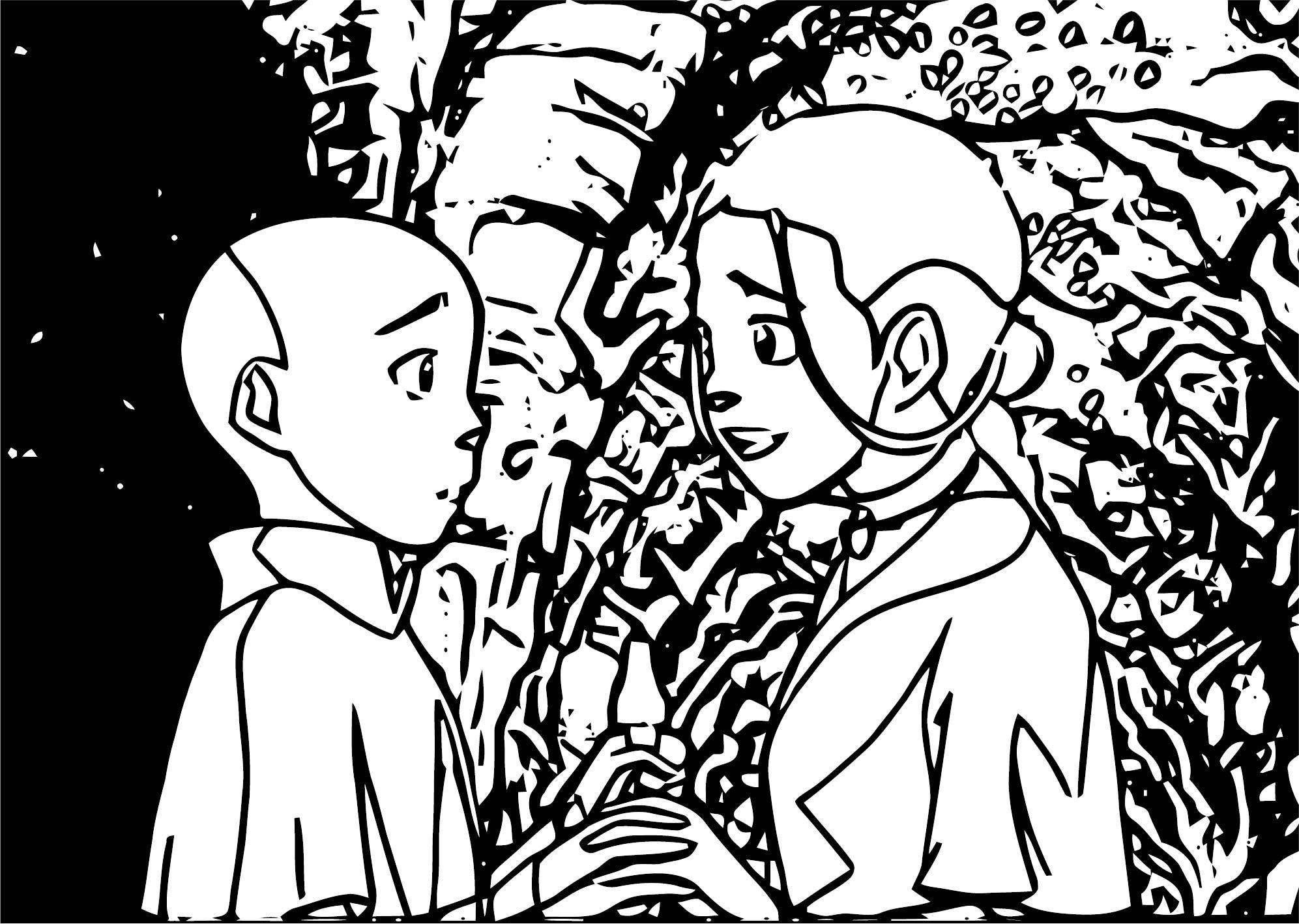 Tumblr MalrhUOrwqqqo Avatar Aang Coloring Page