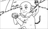 Tumblr NdkjjsvXtmkilo Avatar Aang Coloring Page