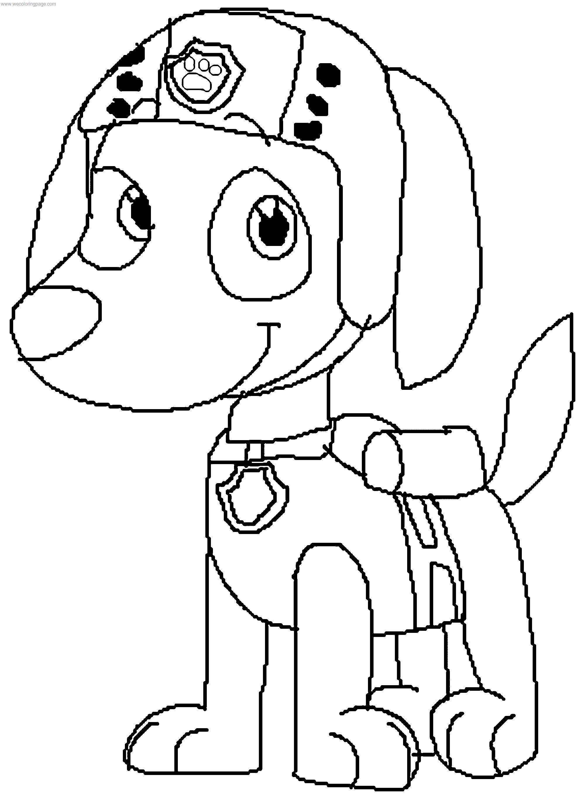 Zuma P A W Patrol By Justinanddennnis Dcwpn Coloring Page