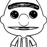2015 Funko Pop Sesame Street 04 Bert Sesame Street Coloring Page