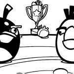 Angry Birds Challenge Featured Image Coloring Page