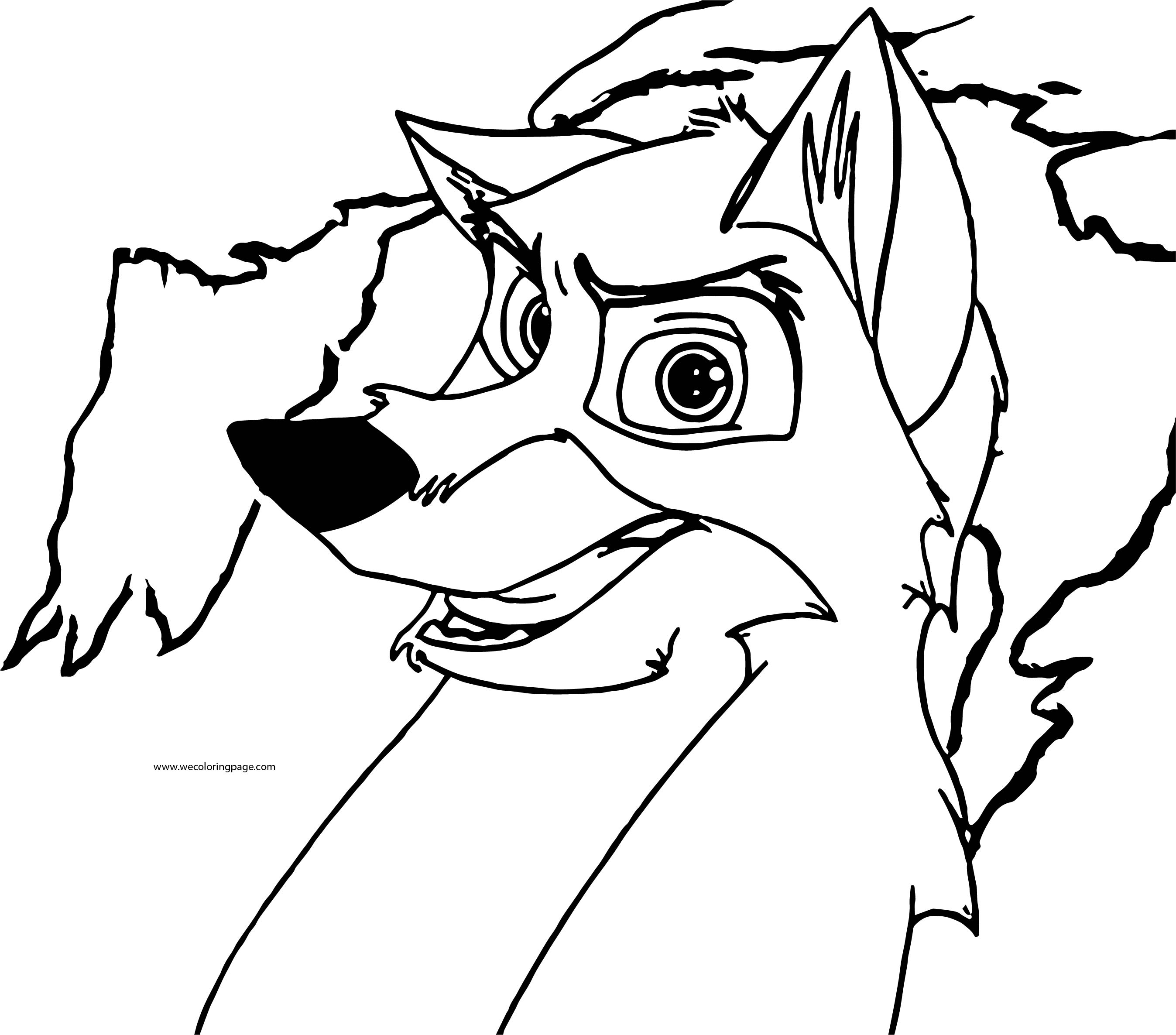 Balto Coloring Page 20
