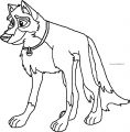 Balto Wolf Coloring Page 116