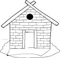 Brick House Hi Coloring Page