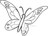 Butterfly Coloring Page Wecoloringpage 122