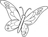 Butterfly Coloring Page Wecoloringpage 134