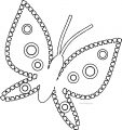 Butterfly Coloring Page Wecoloringpage 141