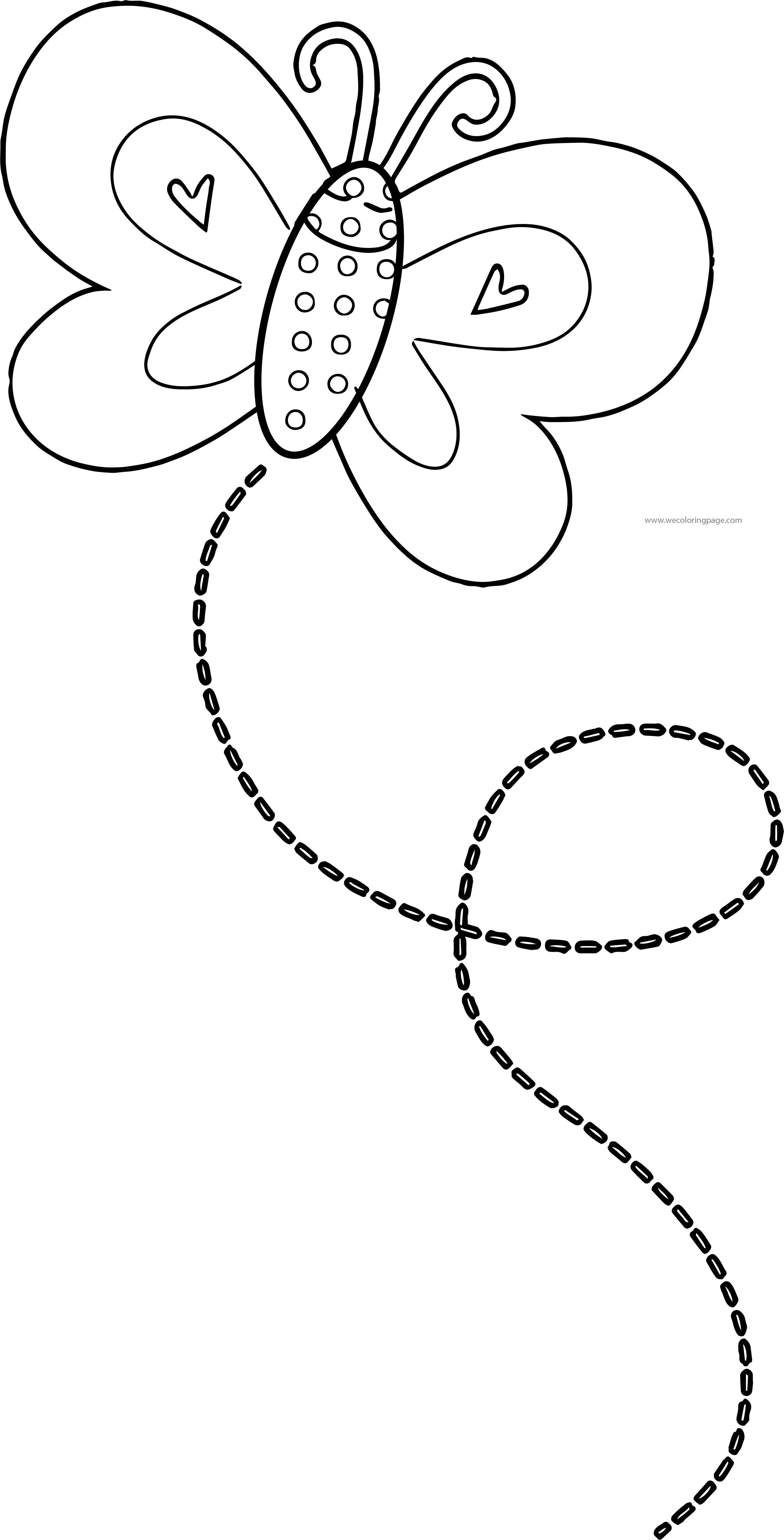 Butterfly Coloring Page Wecoloringpage 148