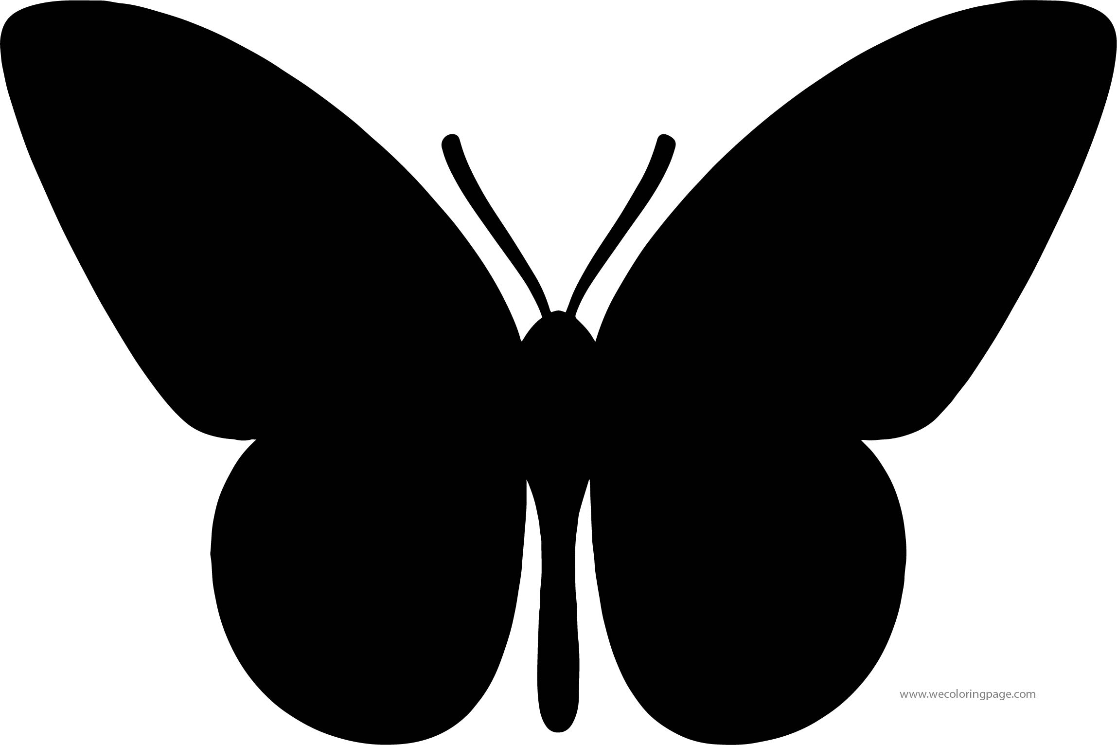 Butterfly Coloring Page Wecoloringpage 174