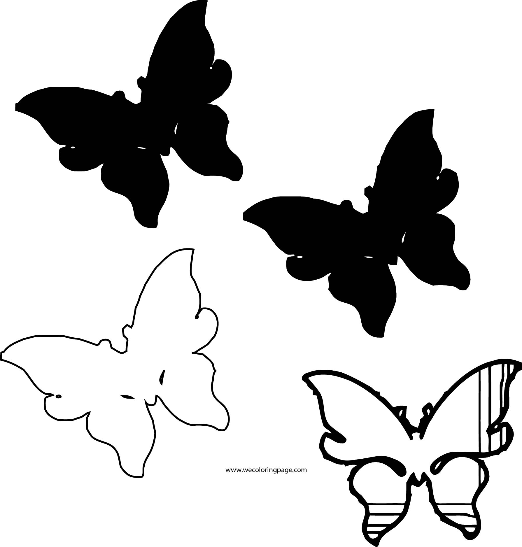 Butterfly Coloring Page Wecoloringpage 262