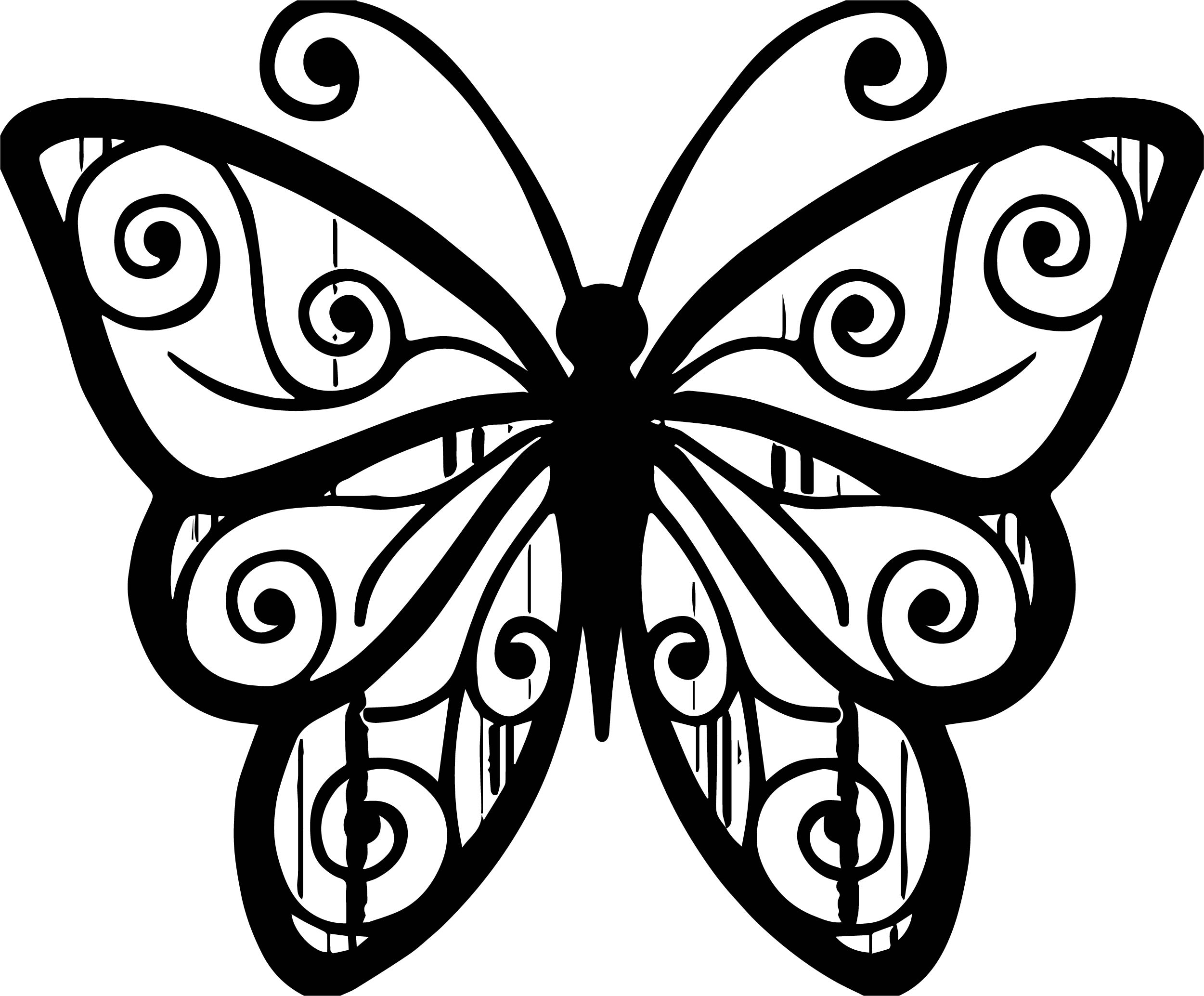 Butterfly Coloring Page Wecoloringpage 301
