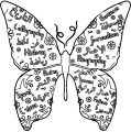 Butterfly Coloring Page Wecoloringpage 307