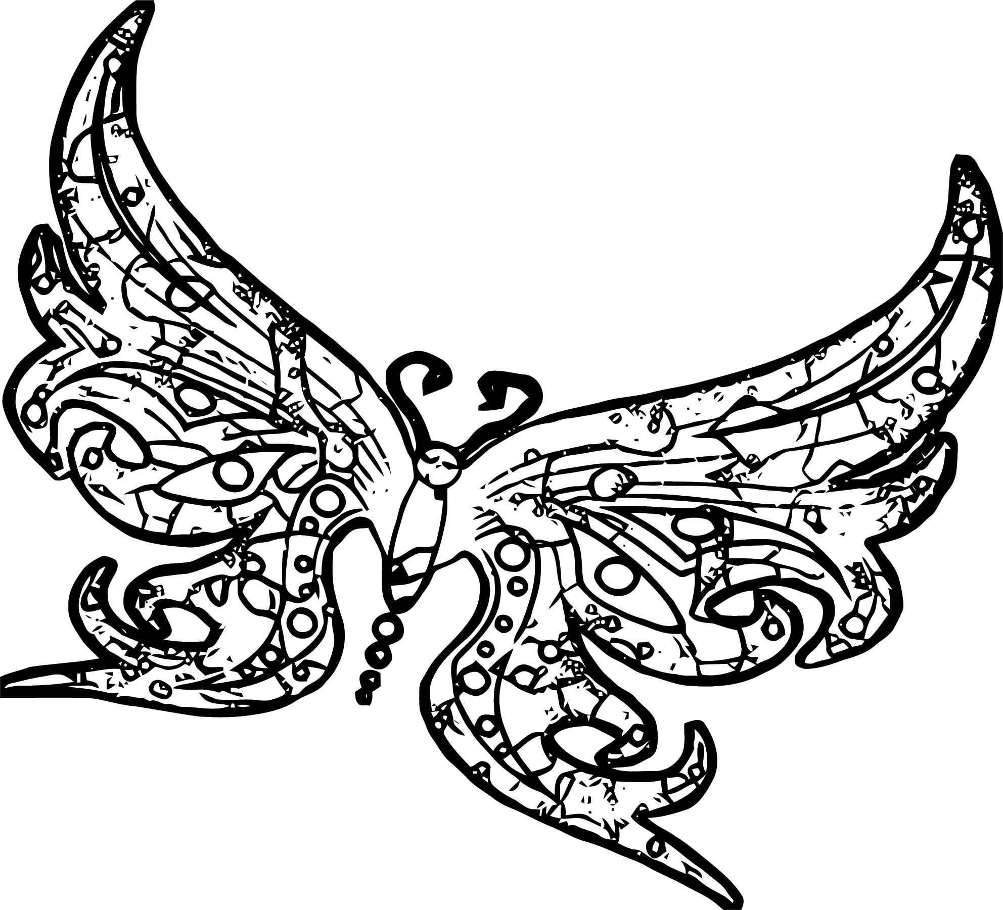 Butterfly Coloring Page Wecoloringpage 333