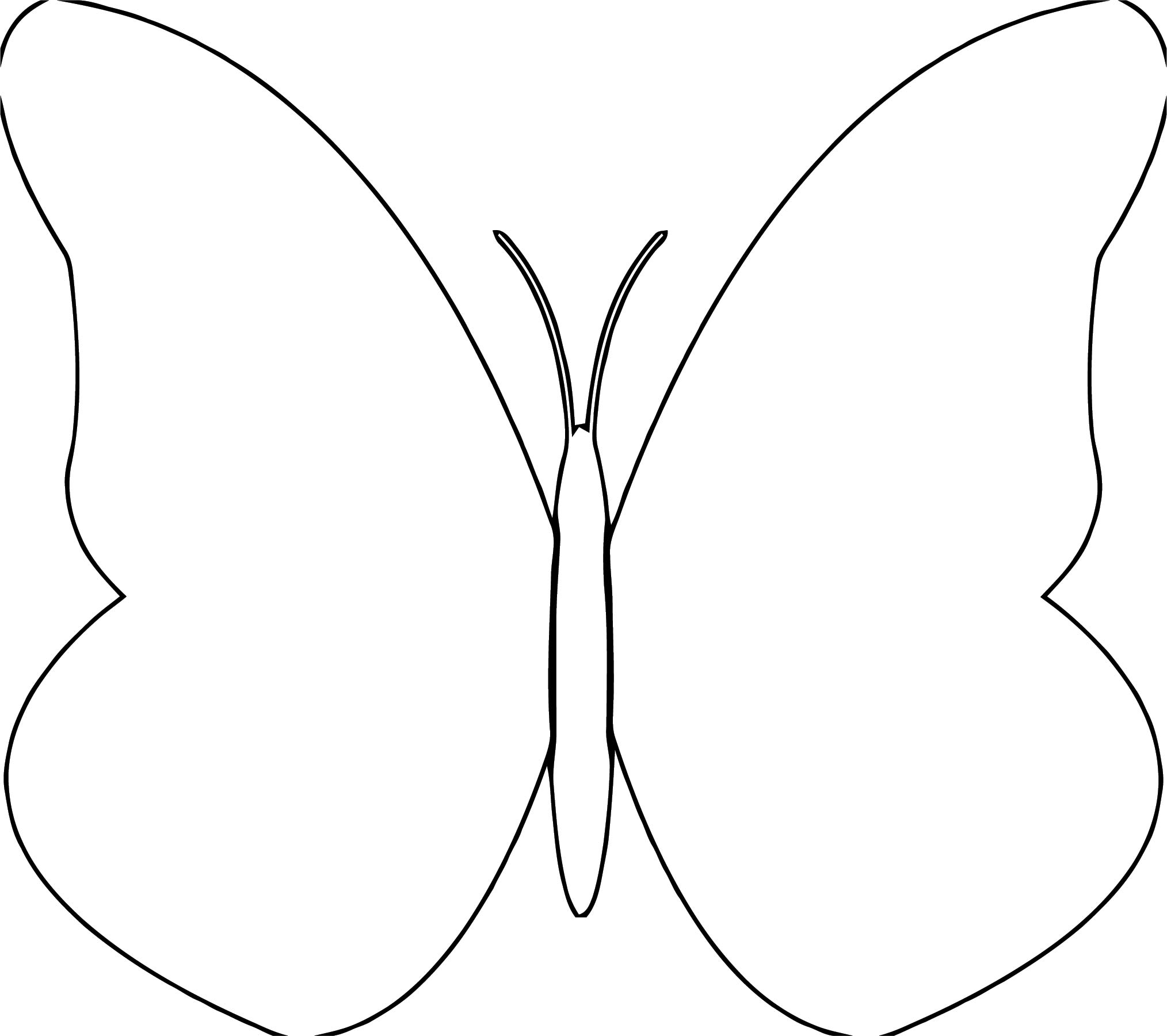 Butterfly Coloring Page Wecoloringpage 363