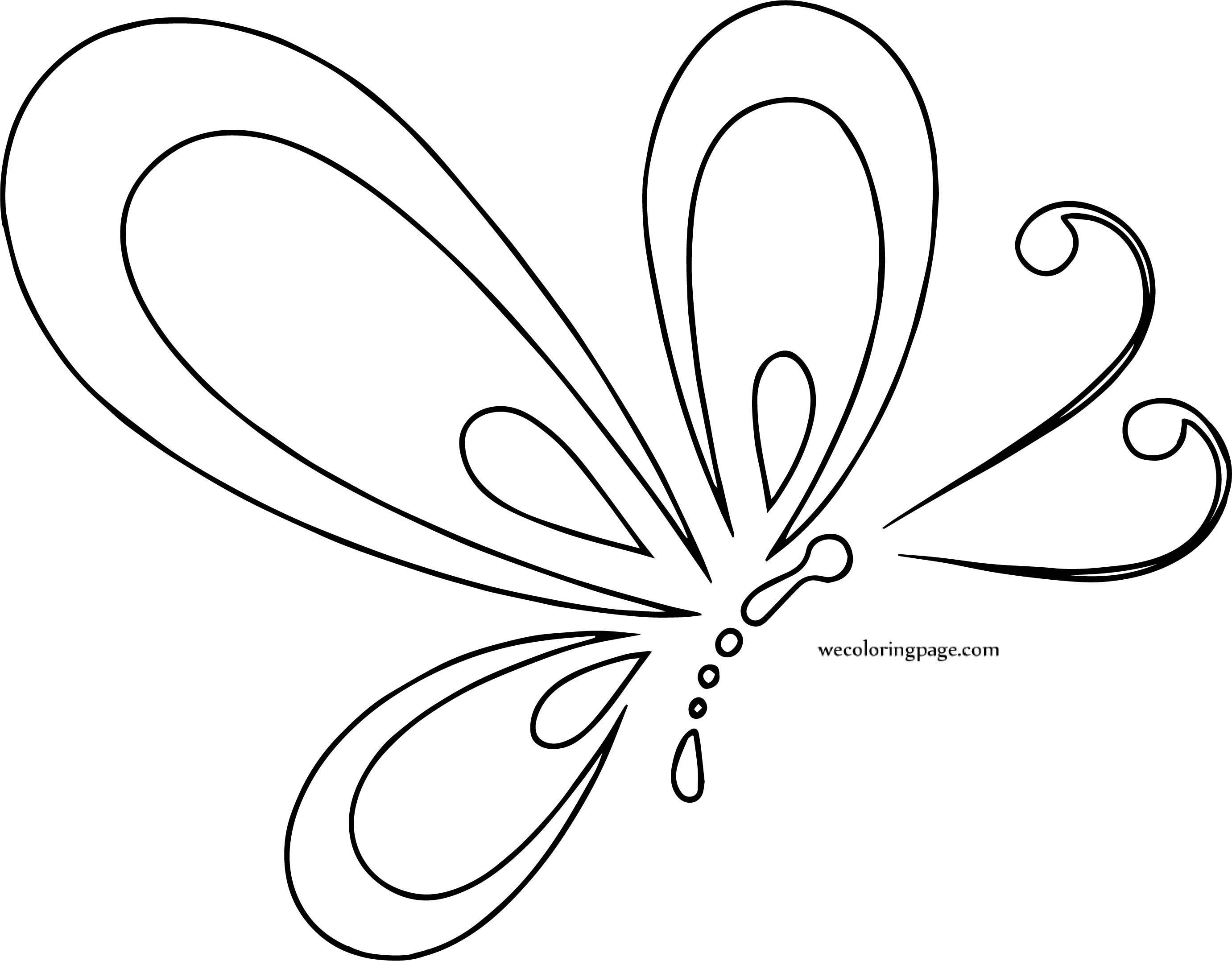 Butterfly Coloring Page Wecoloringpage 84