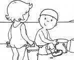 Caillou Coloring Page WeColoringPage 020