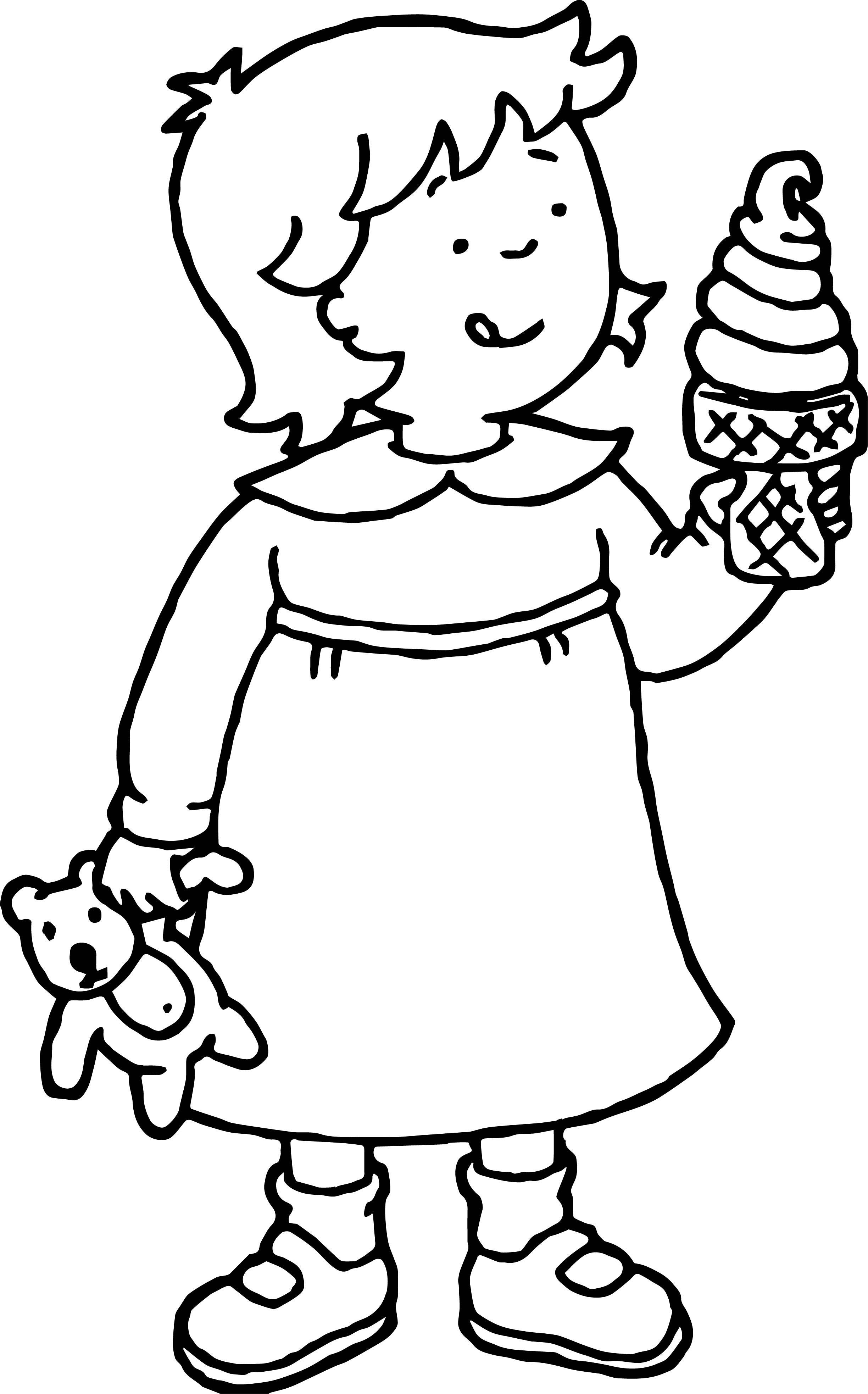 Caillou Coloring Page WeColoringPage 051