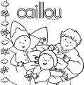 Caillou Coloring Page WeColoringPage 072