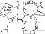 Caillou Coloring Page WeColoringPage 077
