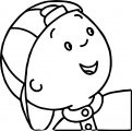 Caillou Coloring Page WeColoringPage 151
