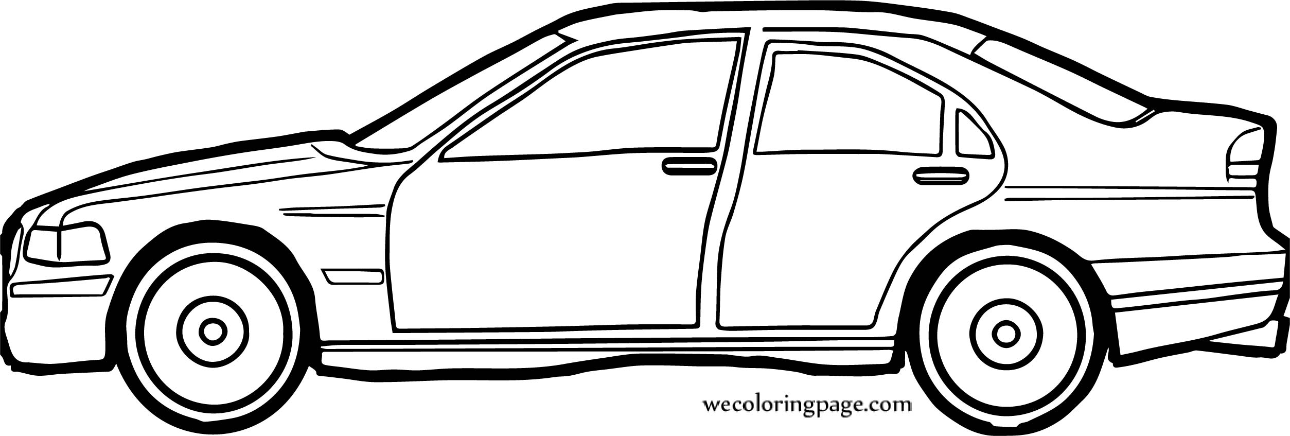 Car Wecoloringpage Coloring Page 107
