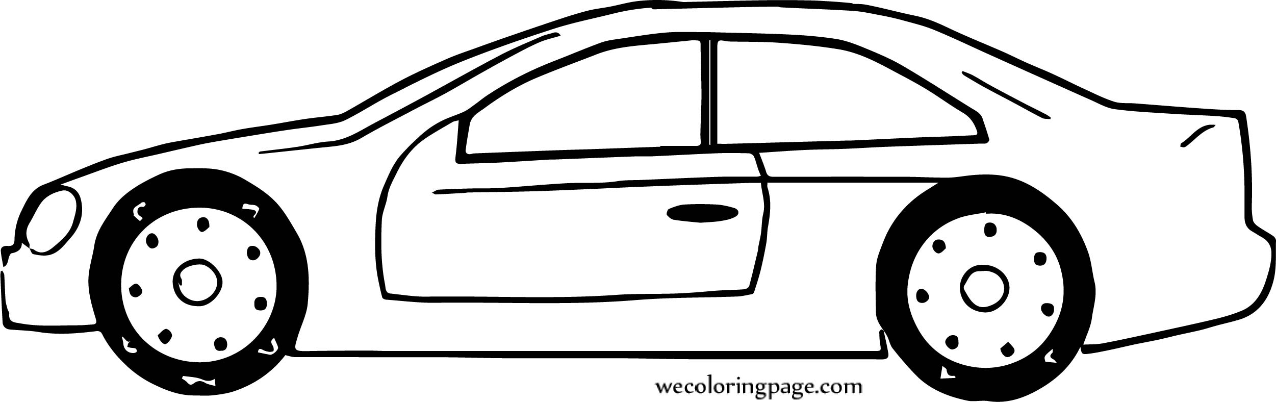 Car Wecoloringpage Coloring Page 111