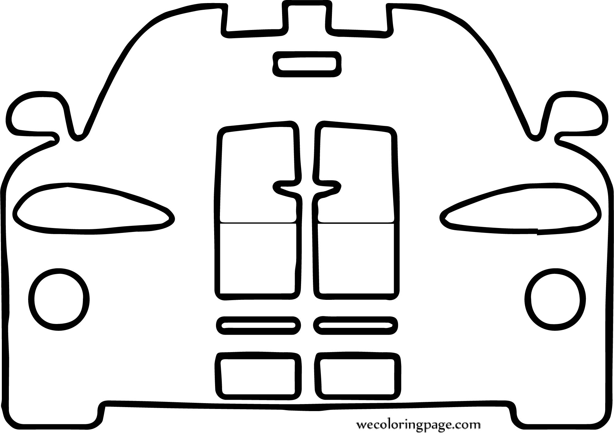 Car Wecoloringpage Coloring Page 119