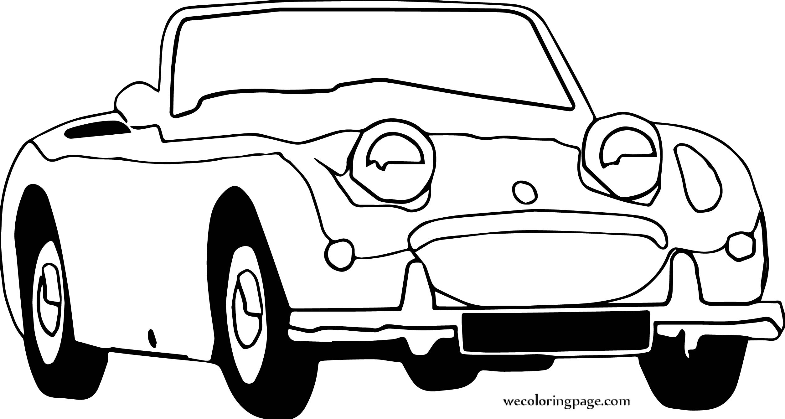 Car Wecoloringpage Coloring Page 132