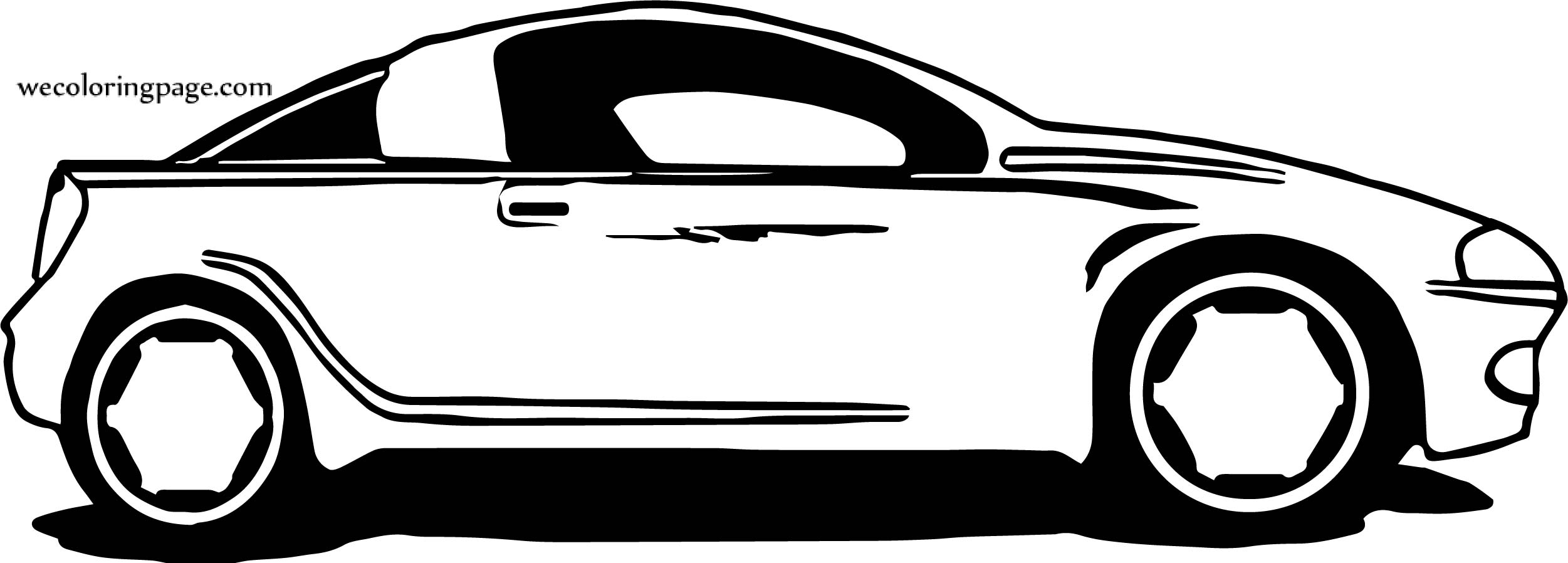 Car Wecoloringpage Coloring Page 134