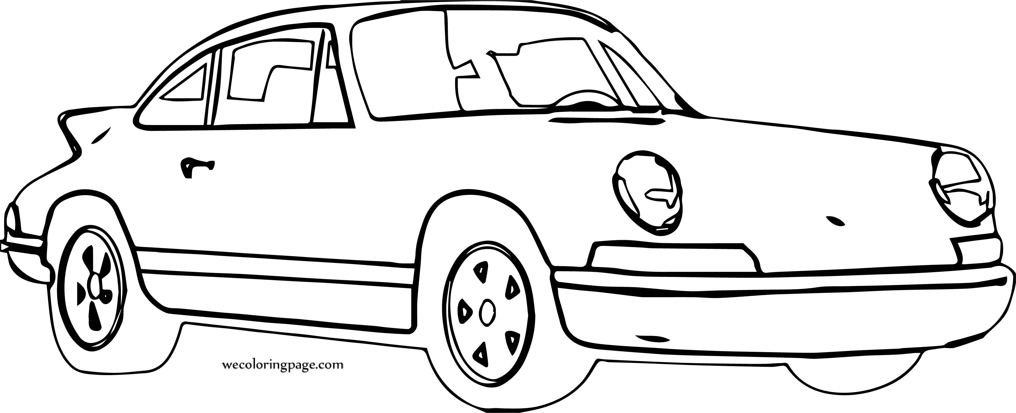 Car Wecoloringpage Coloring Page 140