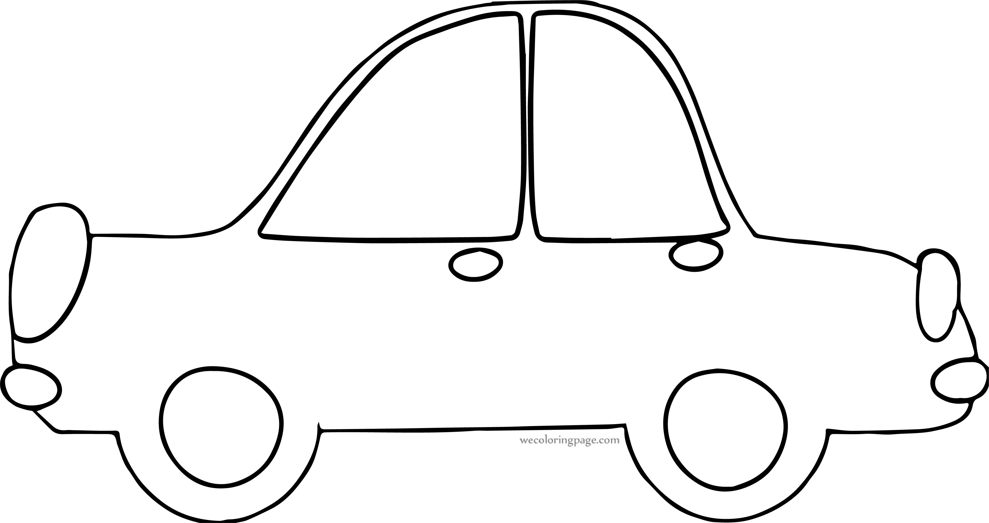 Car Wecoloringpage Coloring Page 166