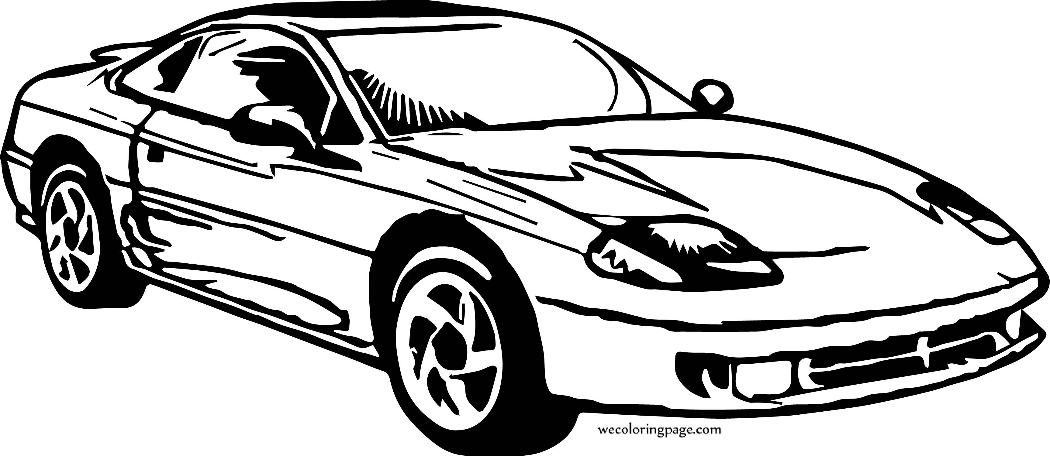 Car Wecoloringpage Coloring Page 169