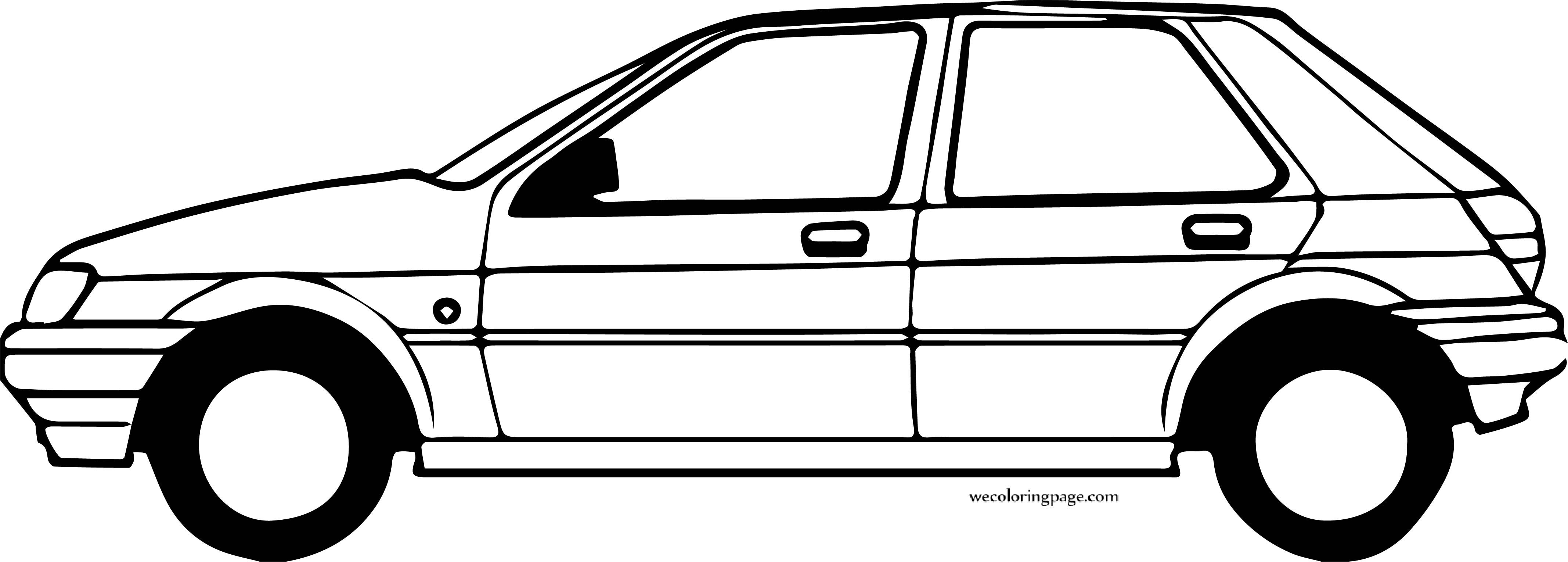 Car Wecoloringpage Coloring Page 170