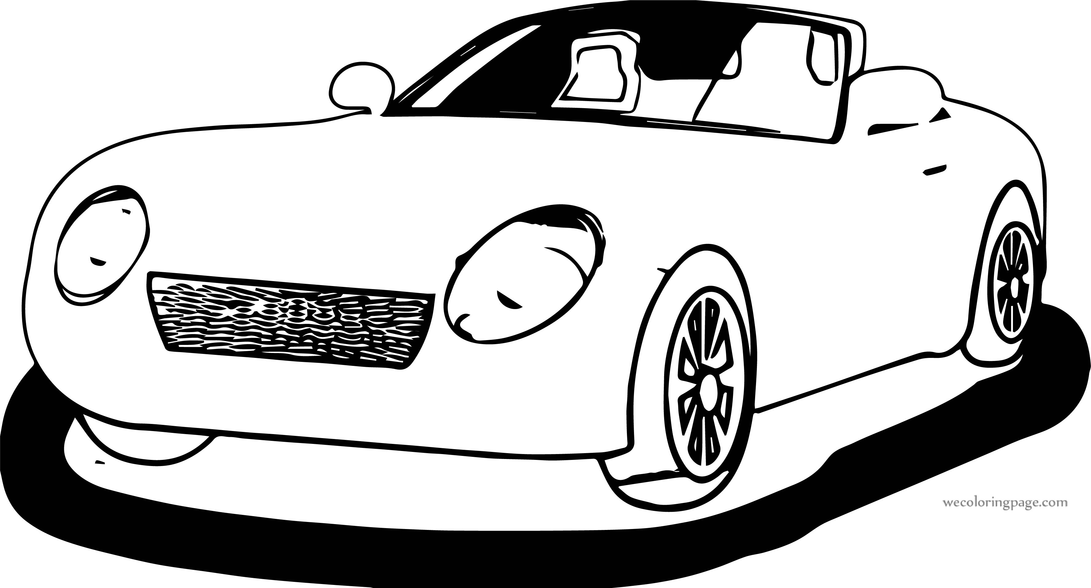 Car Wecoloringpage Coloring Page 184