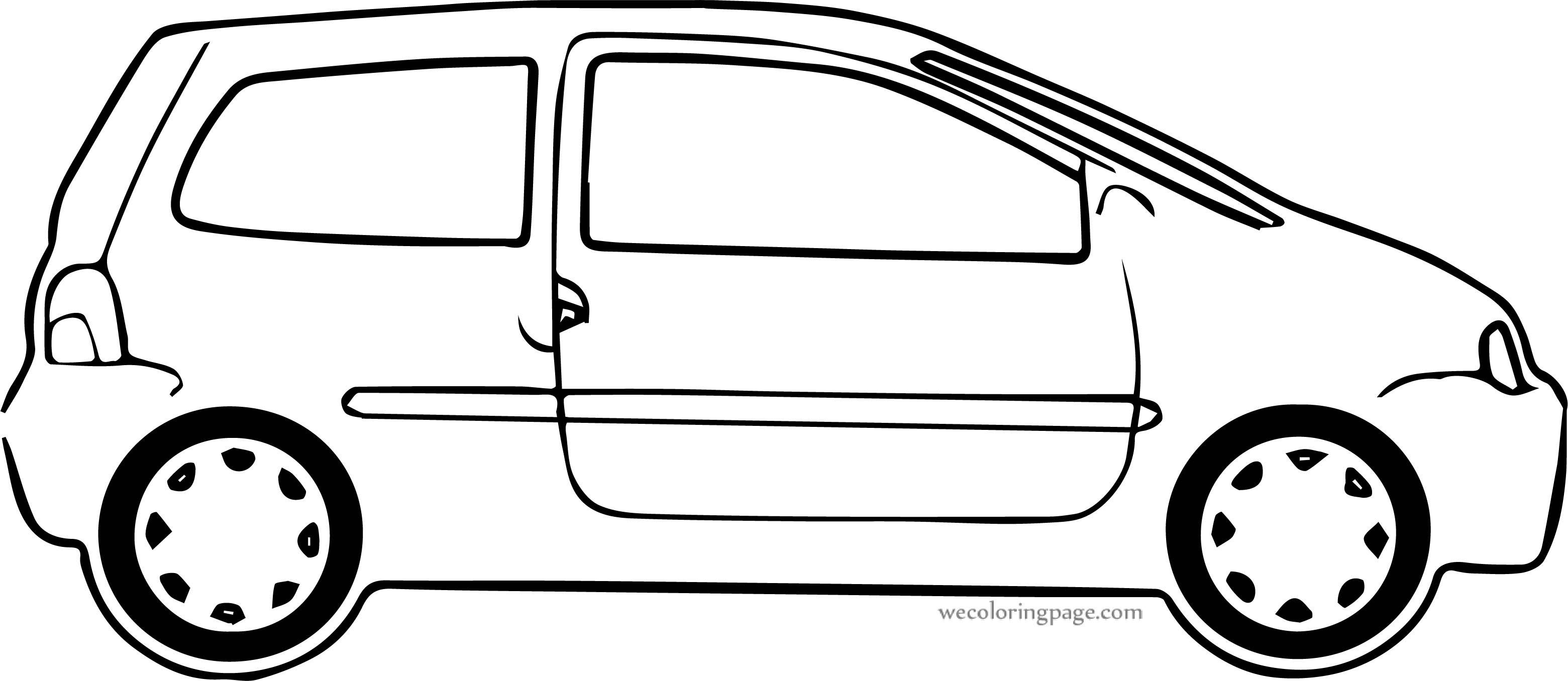 Car Wecoloringpage Coloring Page 185