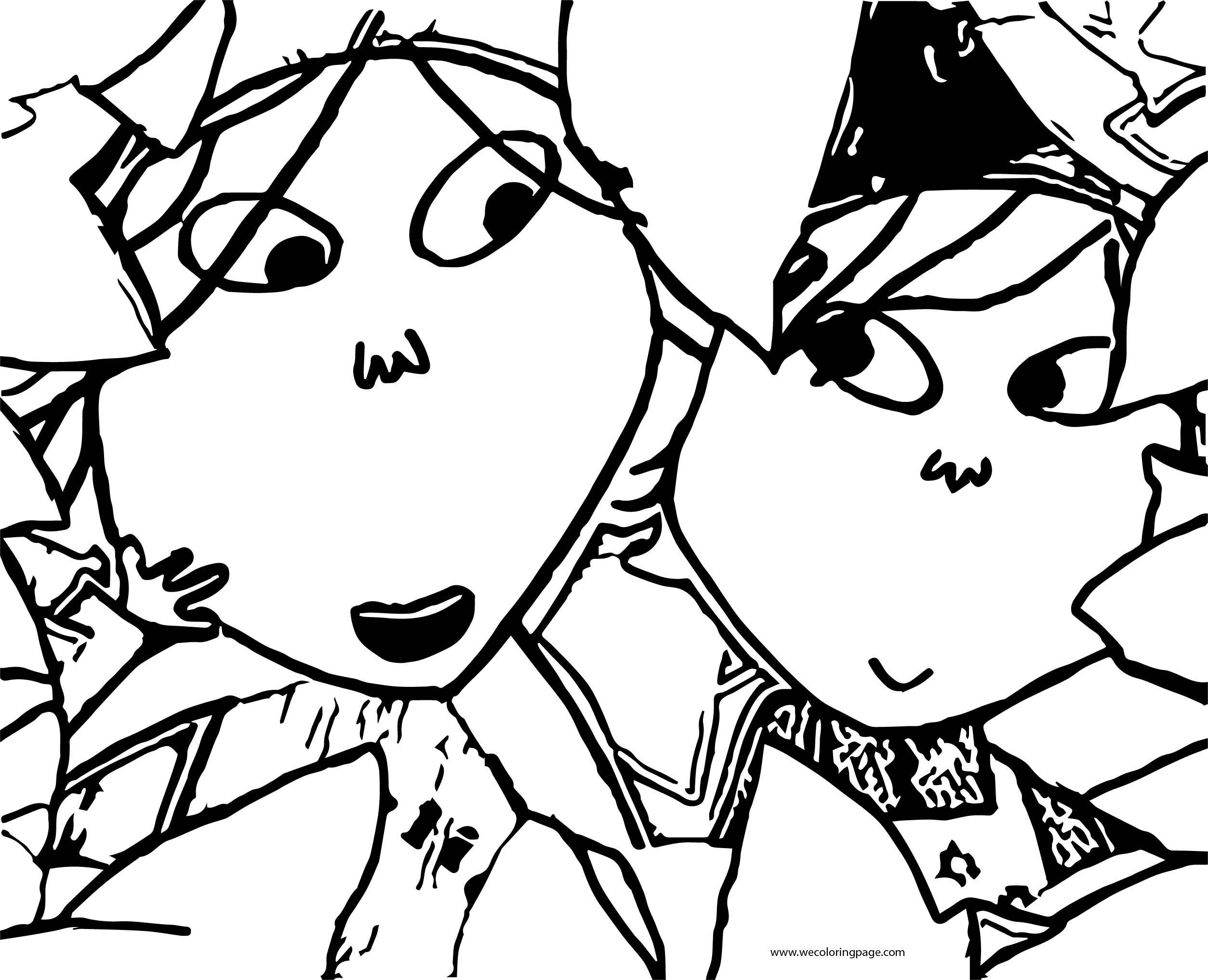 Charlie And Lola Coloring Page 30
