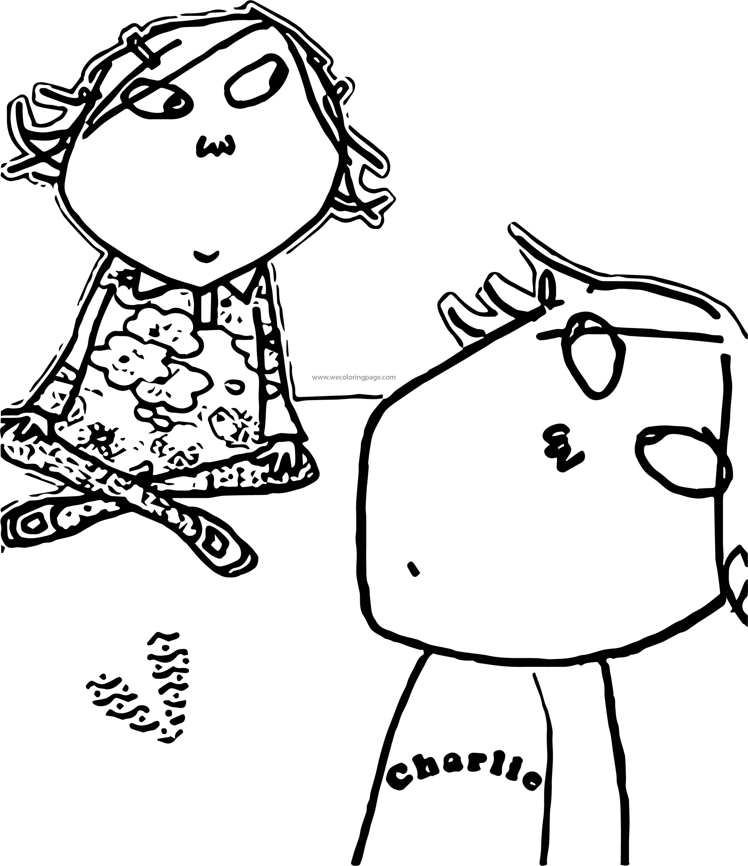 coloring pages to print charlie and lola | Charlie And Lola Coloring Page 16 | Wecoloringpage.com