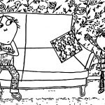 Charlie And Lola Coloring Page 48