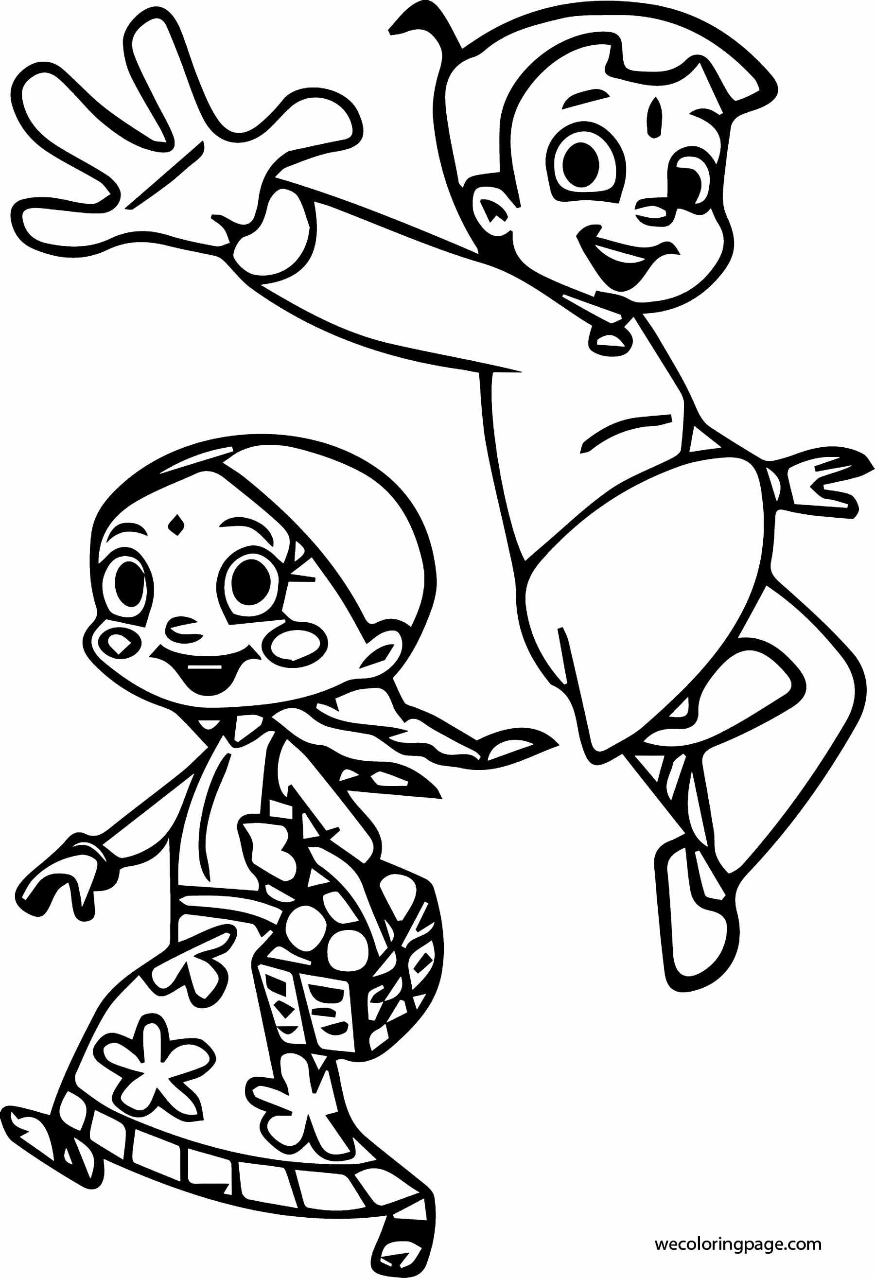 Chhota Bheem Coloring Page 34