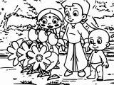 Chhota Bheem Coloring Page 58
