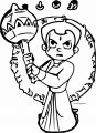 Chhota Bheem Magic Coloring Page