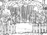 Chhota Bheem Party Coloring Page
