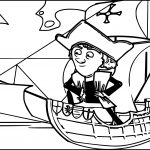 Christopher Columbus Coloring Page Ship