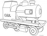 Chuggington CGR Coloring Page