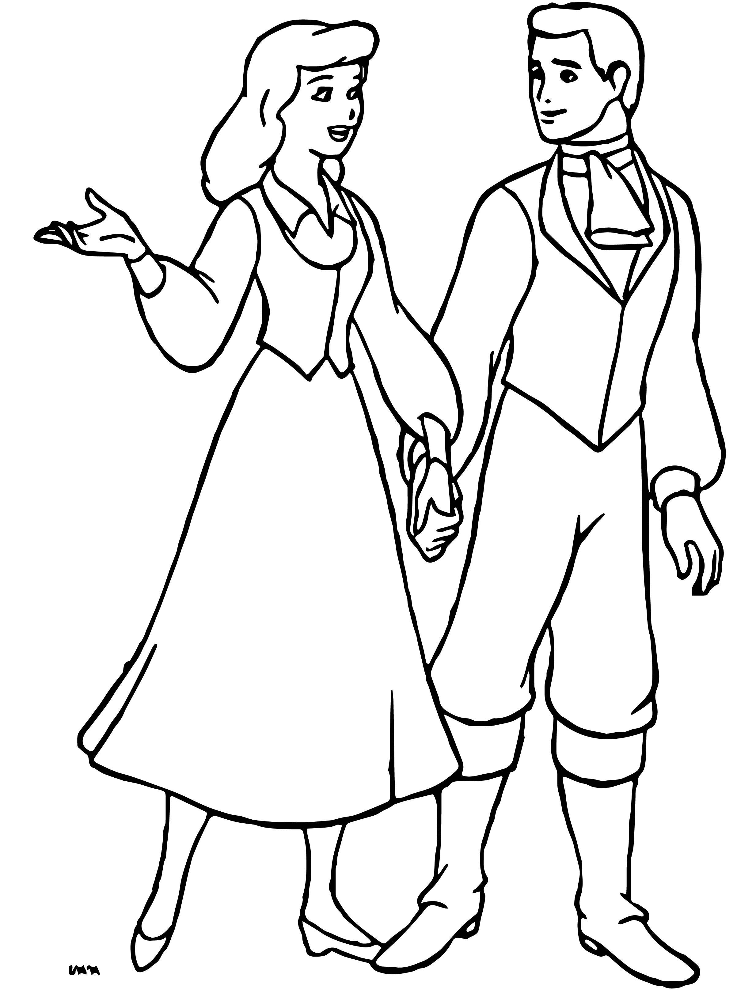 Cinderella Lll A Twist In Time Coloring Pages 16