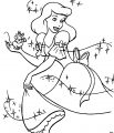 Cinderella Mice And Birds Coloring Pages 03