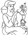 Cinderella Mice And Birds Coloring Pages 24