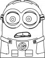 Dave The Minion What Coloring Page
