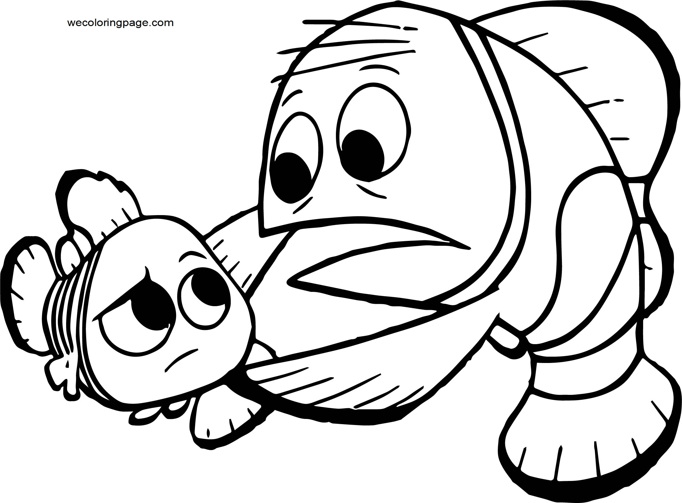 Disney Finding Nemo Father Coloring Pages