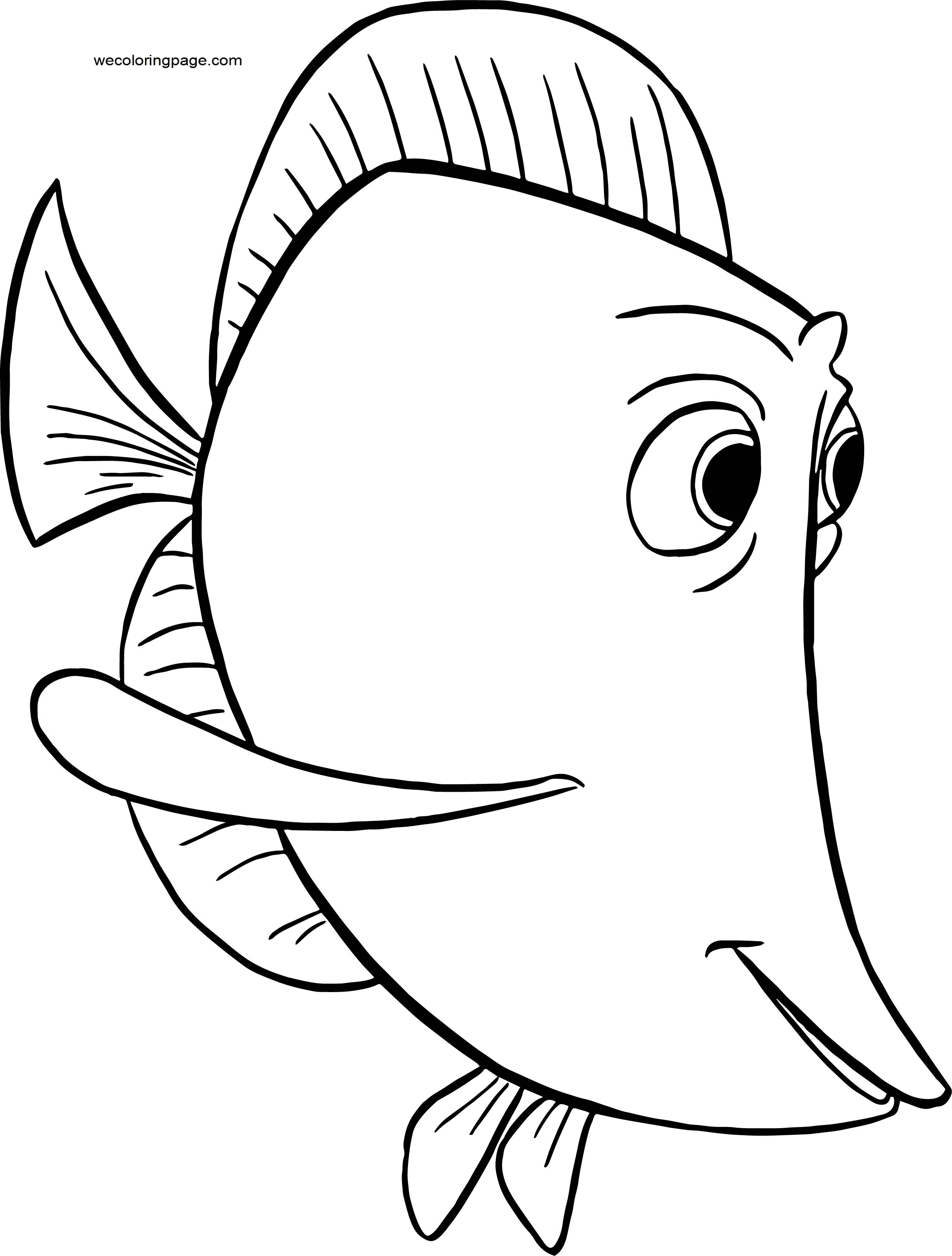Disney Finding Nemobubbles 214145001 Coloring Pages